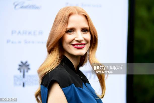 Actress Jessica Chastain attends the Variety's Creative Impact Awards and 10 Directors to watch at the 29th Annual Palm Springs International Film...