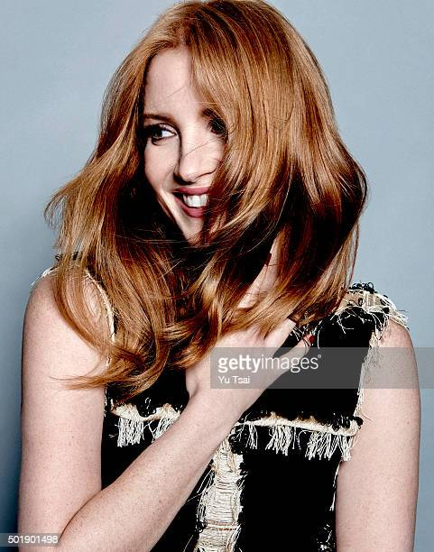 Actress Jessica Chastain is photographed at the Toronto Film Festival for Variety on September 12 2015 in Toronto Ontario Published Image
