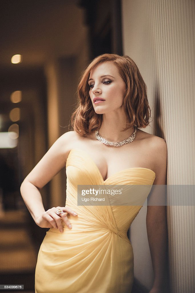 Actress Jessica Chastain is photographed for Gala on May 15, 2016 in Cannes, France.