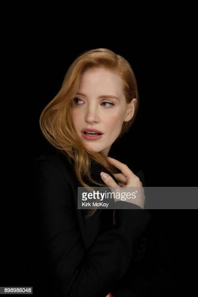 Actress Jessica Chastain is photographed for Los Angeles Times on November 11 2017 in Los Angeles California PUBLISHED IMAGE CREDIT MUST READ Kirk...