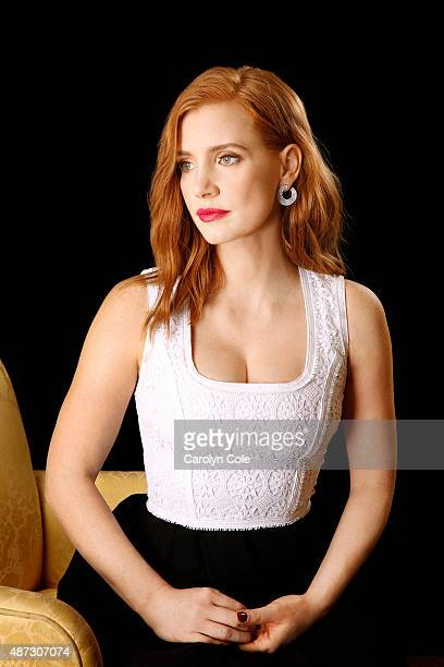 Actress Jessica Chastain is photographed for Los Angeles Times on September 2, 2015 in New York City. PUBLISHED IMAGE. CREDIT MUST BE: Carolyn...