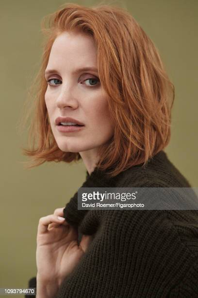 Actress Jessica Chastain is photographed for Madame Figaro on June 22 2018 in New York United States Sweater PUBLISHED IMAGE CREDIT MUST READ David...