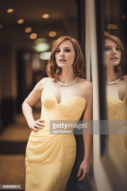 Actress Jessica Chastain is photographed for Self Assignment on May 15 2016 in Cannes France