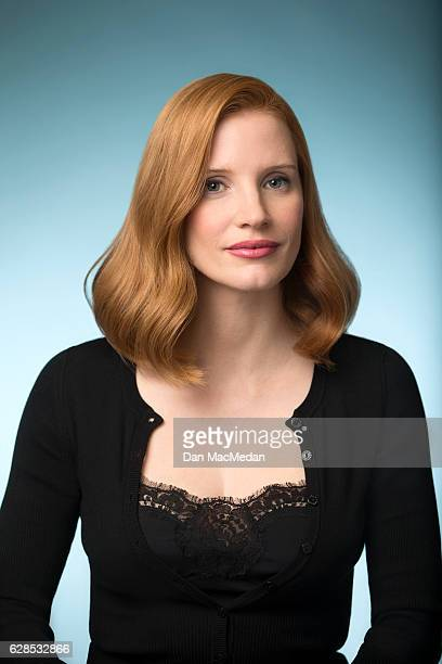 Actress Jessica Chastain is photographed for USA Today on November 3 2016 in Beverly Hills California