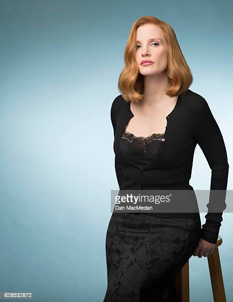 Actress Jessica Chastain is photographed for USA Today on November 3 2016 in Beverly Hills California PUBLISHED IMAGE