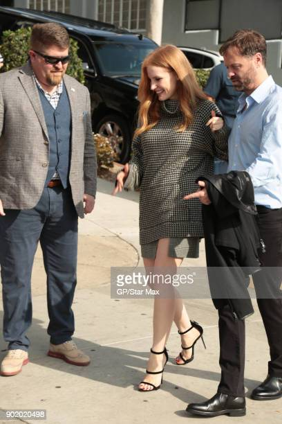 Actress Jessica Chastain is seen on January 6, 2018 in Los Angeles, CA.