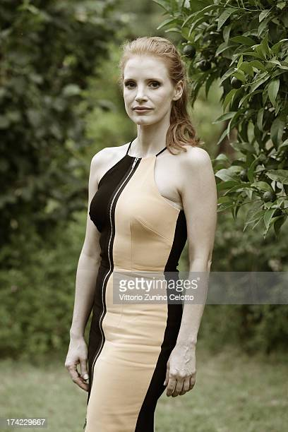 Actress Jessica Chastain poses for a portrait session at the 2013 Giffoni Film Festival on July 21 2013 in Giffoni Valle Piana Italy