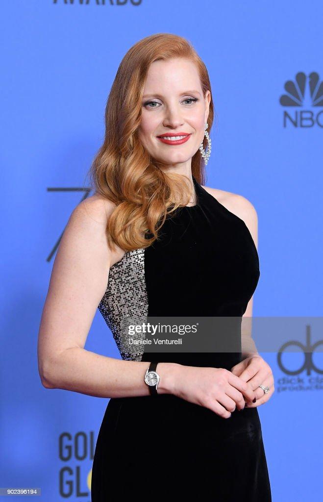 75th Annual Golden Globe Awards - Press Room : News Photo