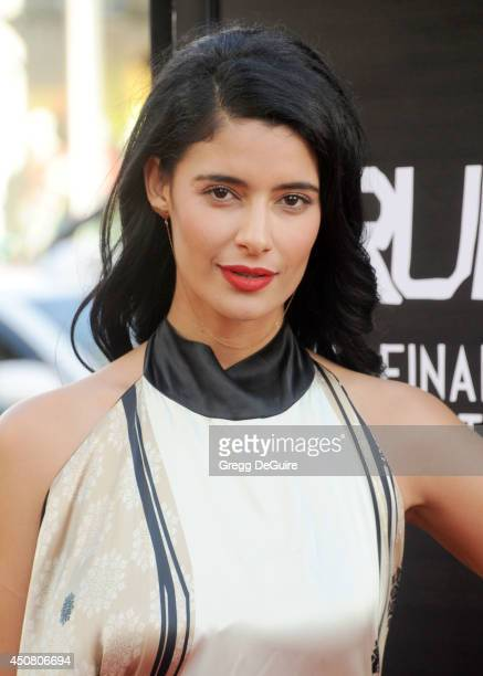 """Actress Jessica Clark arrives at HBO's """"True Blood"""" final season premiere at TCL Chinese Theatre on June 17, 2014 in Hollywood, California."""