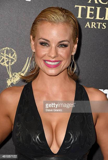 Actress Jessica Collins attends The 41st Annual Daytime Emmy Awards at The Beverly Hilton Hotel on June 22 2014 in Beverly Hills California