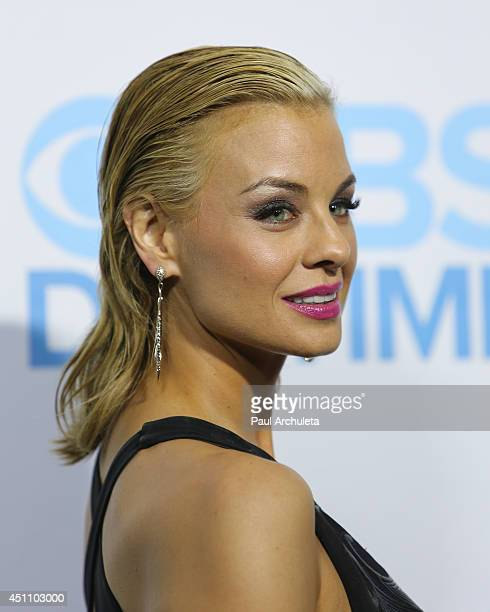 Actress Jessica Collins attends the 41st Annual Daytime Emmy Awards CBS after party at The Beverly Hilton Hotel on June 22 2014 in Beverly Hills...