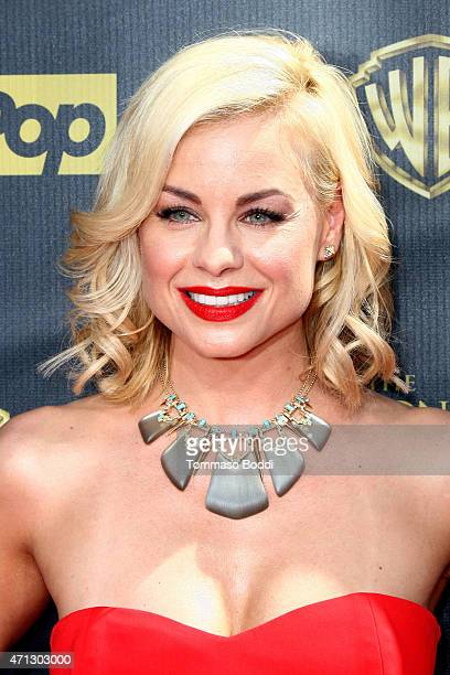 Actress Jessica Collins attends the 42nd annual Daytime Emmy Awards held at Warner Bros Studios on April 26 2015 in Burbank California