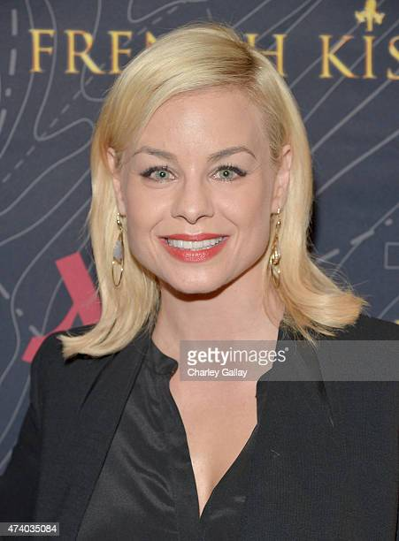 Actress Jessica Collins attends The Marriott Content Studio's French Kiss film premiere at the Marina del Rey Marriott on May 19 2015 in Marina del...