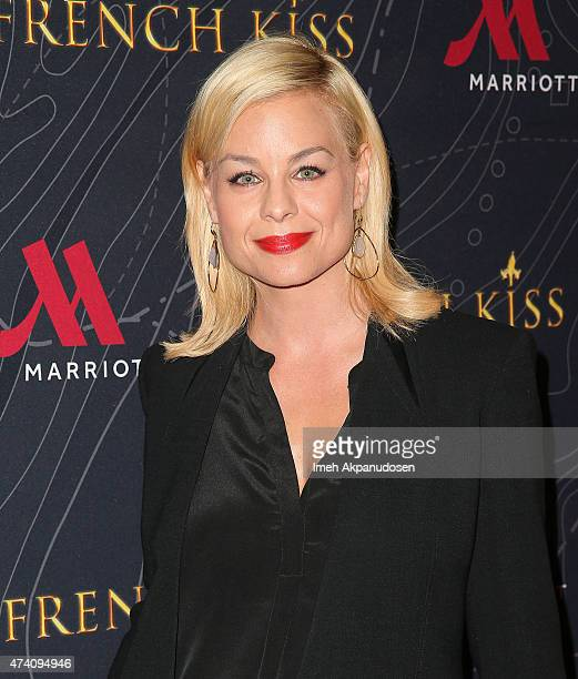 Actress Jessica Collins attends the premiere of 'French Kiss' at Marina del Rey Marriott on May 19 2015 in Marina del Rey California