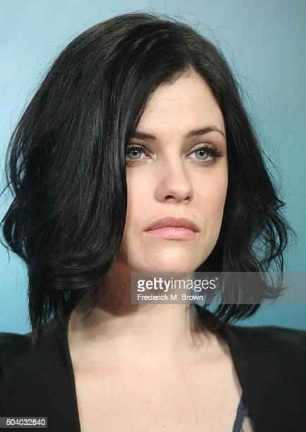 Actress Jessica de Gouw speaks onstage during the Underground panel as part of the WGN America portion of This is Cable 2016 Television Critics...