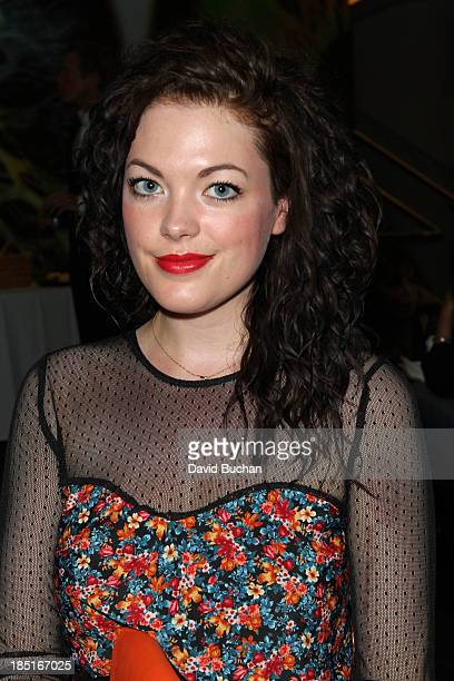 Actress Jessica Doherty attends the BAFTA Brits to Watch The Screening of Burton and Taylor With Richard Laxton at WME Screening Room on October 17...