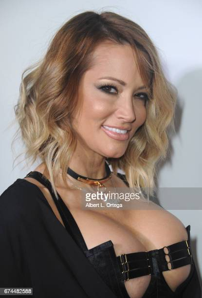 Actress Jessica Drake arrives for the 33rd Annual XRCO Awards Show held at OHM Nightclub on April 27, 2017 in Hollywood, California.