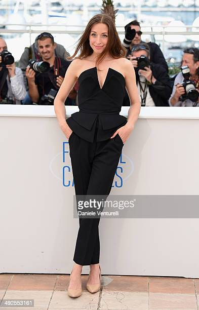 Actress Jessica Erickson attends the 'Goodbye To The Language' photocall at the 67th Annual Cannes Film Festival on May 21 2014 in Cannes France