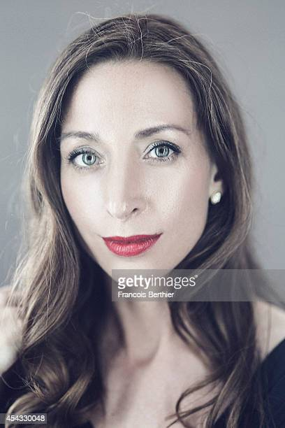 Actress Jessica Erickson is photographed for Self Assignment on August 4 2014 in Paris France