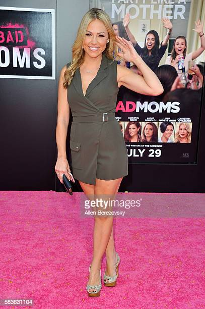 Actress Jessica Hall attends the Premiere of STX Entertainment's Bad Moms at Mann Village Theatre on July 26 2016 in Westwood California