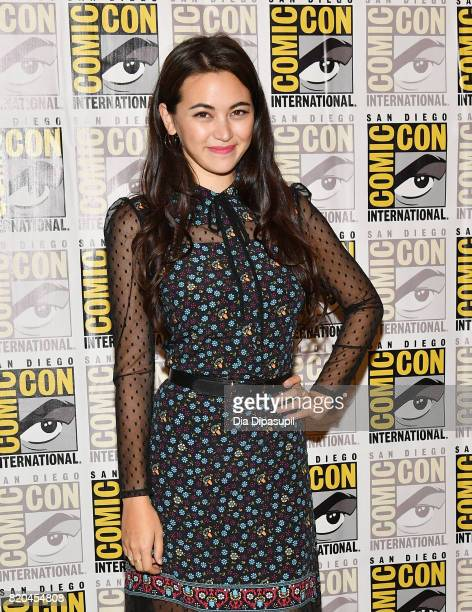 Actress Jessica Henwick at Marvel's The Defenders Press Line during ComicCon International 2017 at Hilton Bayfront on July 21 2017 in San Diego...