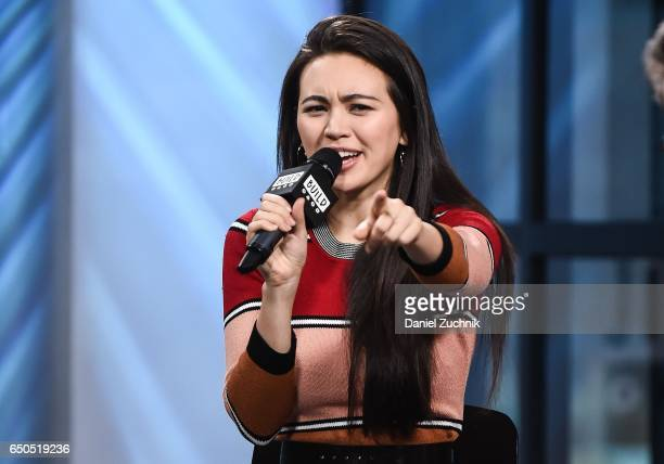 Actress Jessica Henwick attends the Build Series to discuss her new show 'Iron Fist' at Build Studio on March 9 2017 in New York City