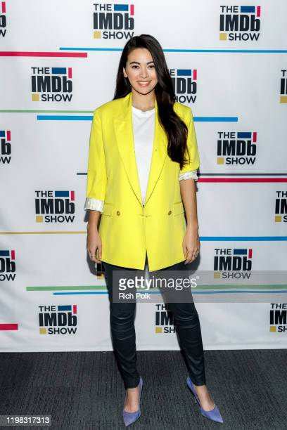 Actress Jessica Henwick visits 'The IMDb Show' LIVE on Twitch on January 8 2020 in Santa Monica California This episode of 'The IMDb Show' aired on...