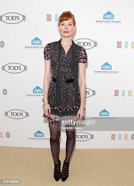 Actress Jessica Joffee attends the HetrickMartin Institute The Hero Fund Scholarship Fundraiser at The Marble House on June 3 2015 in New York City