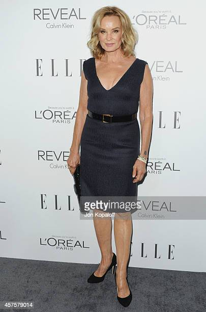 Actress Jessica Lange arrives at the 21st Annual ELLE Women In Hollywood Awards at Four Seasons Hotel Los Angeles at Beverly Hills on October 20,...