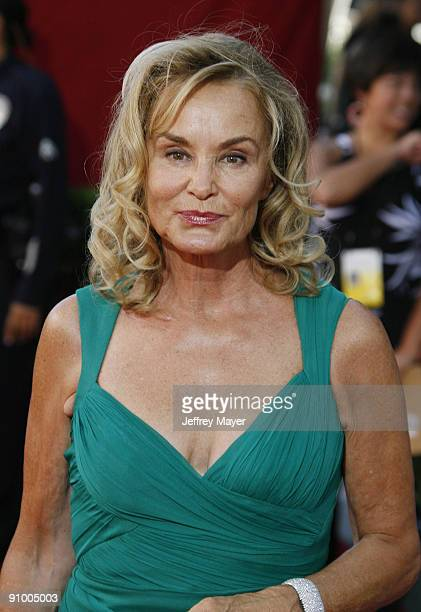 Actress Jessica Lange arrives at the 61st Annual Primetime Emmy Awards at the Nokia Theatre LA Live on September 20 2009 in Los Angeles California