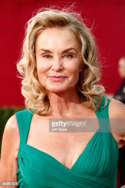Actress Jessica Lange arrives at the 61st Primetime Emmy Awards held at the Nokia Theatre on September 20 2009 in Los Angeles California
