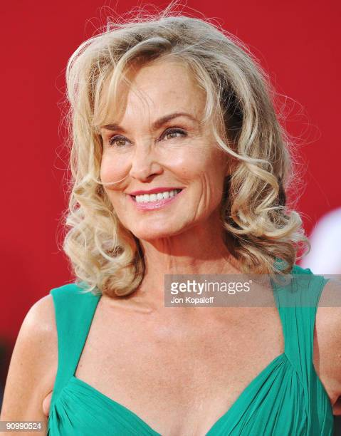 Actress Jessica Lange arrives at the 61st Primetime Emmy Awards held at the Nokia Theatre LA Live on September 20 2009 in Los Angeles California