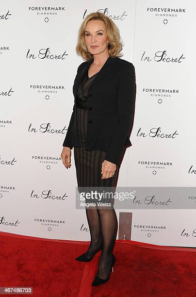 Actress Jessica Lange arrives at the Los Angeles premiere of 'In Secret' at ArcLight Hollywood on February 6 2014 in Hollywood California