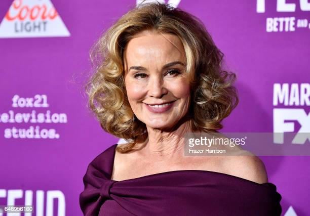 Actress Jessica Lange arrives at the Premiere of FX Network's Feud Bette And Joan at Grauman's Chinese Theatre on March 1 2017 in Hollywood California