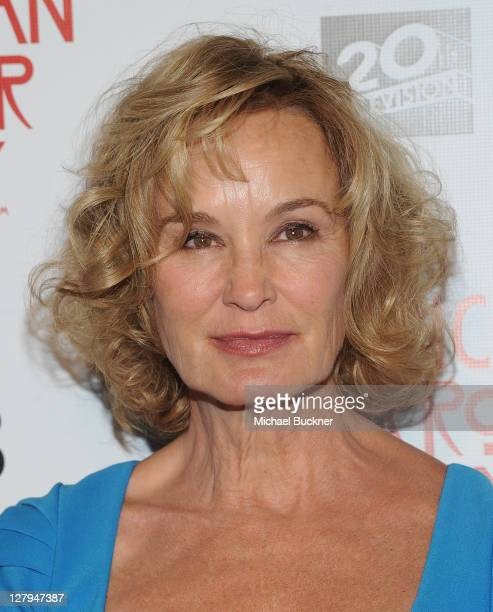 Actress Jessica Lange arrives at the premiere of FX's American Horror Story at the Arclight Cineramadome on October 3 2011 in Hollywood California