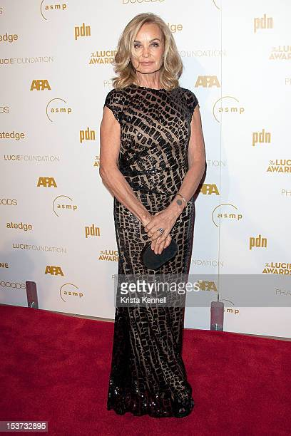 Actress Jessica Lange arrives to the 10th Annual Lucie Awards at The Beverly Hilton Hotel on October 8 2012 in Beverly Hills California