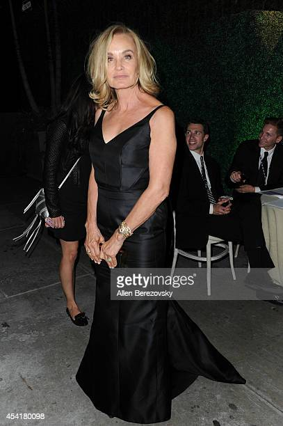 Actress Jessica Lange attends FOX 20th Century FOX Television FX Networks and National Geographic Channel's 2014 Emmy Award Nominee Celebration at...