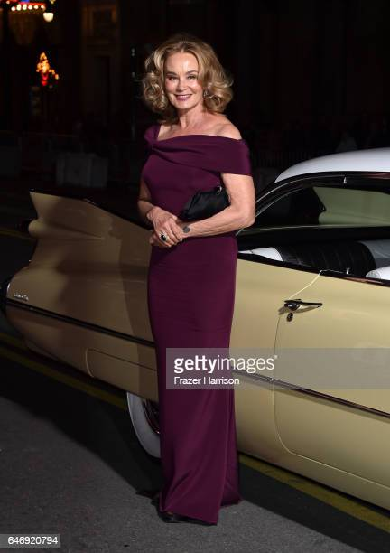 Actress Jessica Lange attends FX Network's Feud Bette and Joan premiere at Grauman's Chinese Theatre on March 1 2017 in Hollywood California