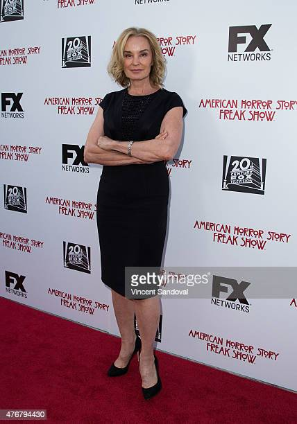 Actress Jessica Lange attends FX's American Horror Story Freakshow FYC special screening and QA at Paramount Studios on June 11 2015 in Los Angeles...