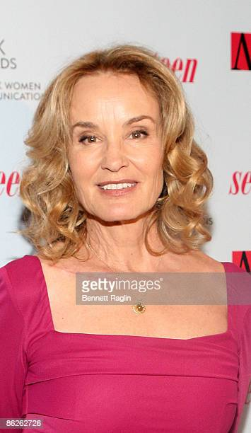 Actress Jessica Lange attends the 2009 Matrix Awards at the Waldorf=Astoria on April 27 2009 in New York City