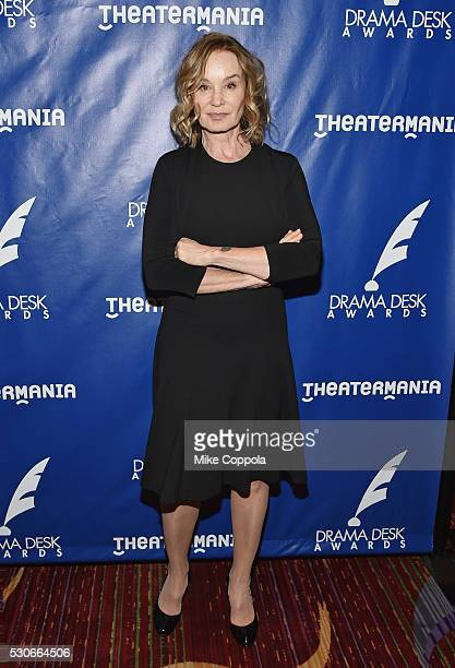 Actress Jessica Lange attends the 2016 Drama Desk Awards Nominees Reception at The New York Marriott Marquis on May 11, 2016 in New York City.
