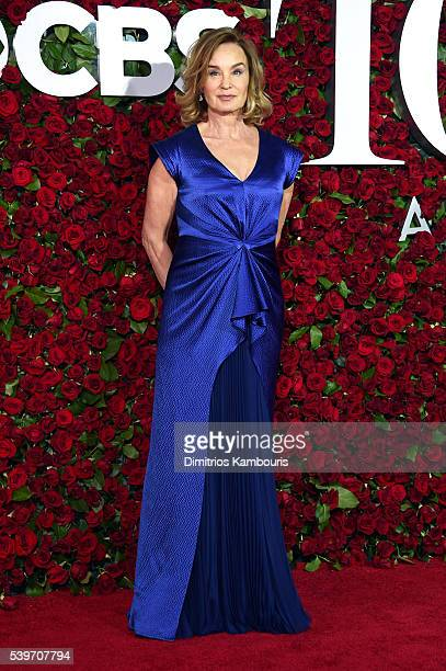 Actress Jessica Lange attends the 70th Annual Tony Awards at The Beacon Theatre on June 12 2016 in New York City