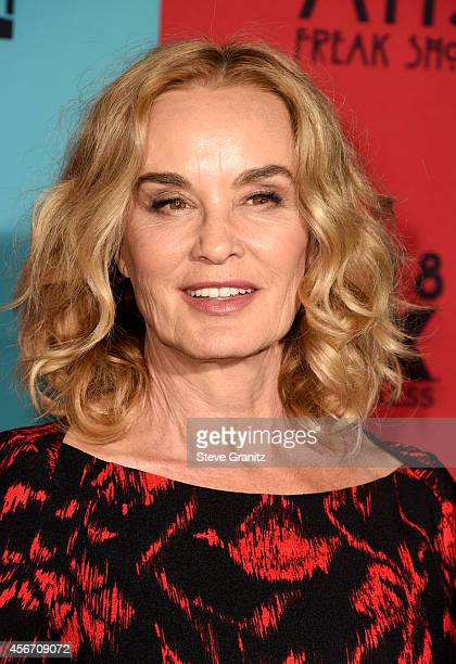 Actress Jessica Lange attends the American Horror Story Freak Show Los Angeles premiere at TCL Chinese Theatre IMAX on October 5 2014 in Hollywood...