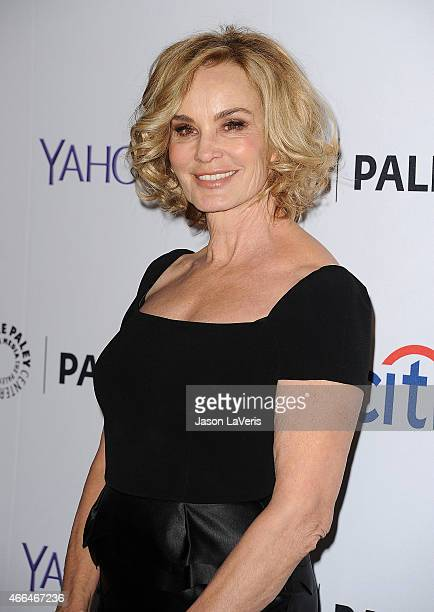 Actress Jessica Lange attends the American Horror Story Freak Show event at the 32nd annual PaleyFest at Dolby Theatre on March 15 2015 in Hollywood...