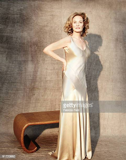 Actress Jessica Lange is photographed for Town and Country Magazine