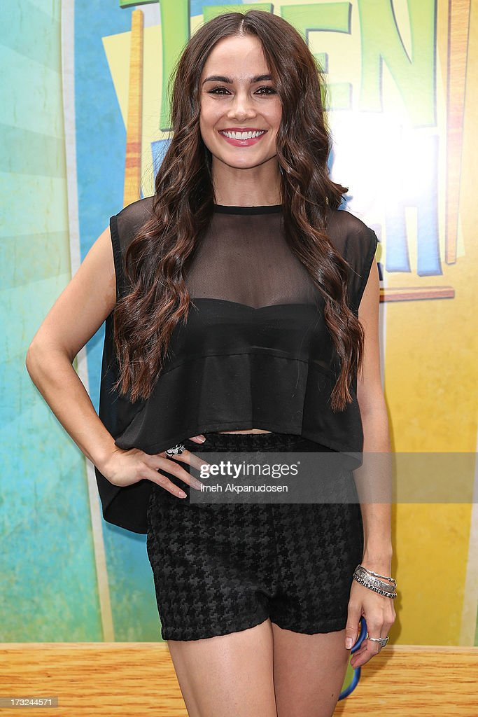 Actress Jessica Lee Keller attends the cast of 'Teen Beach Movie' reunion for movie night at Walt Disney Studios on July 10, 2013 in Burbank, California.