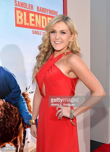 Actress Jessica Lowe attends the Los Angeles premiere of Blended at TCL Chinese Theatre on May 21 2014 in Hollywood California