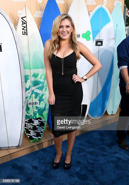 Actress Jessica Lowe attends the premiere of TNT's Animal Kingdom at The Rose Room on June 8 2016 in Venice California