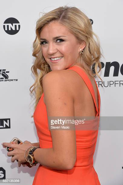 Actress Jessica Lowe attends the Turner Upfront 2016 at Nick Stef's Steakhouse on May 18 2016 in New York City