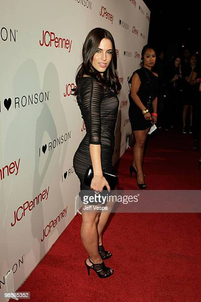 Actress Jessica Lowndes arrives at Charlotte Ronson and JCPenney Spring Cocktail Jam held at Milk Studios on May 4 2010 in Los Angeles California